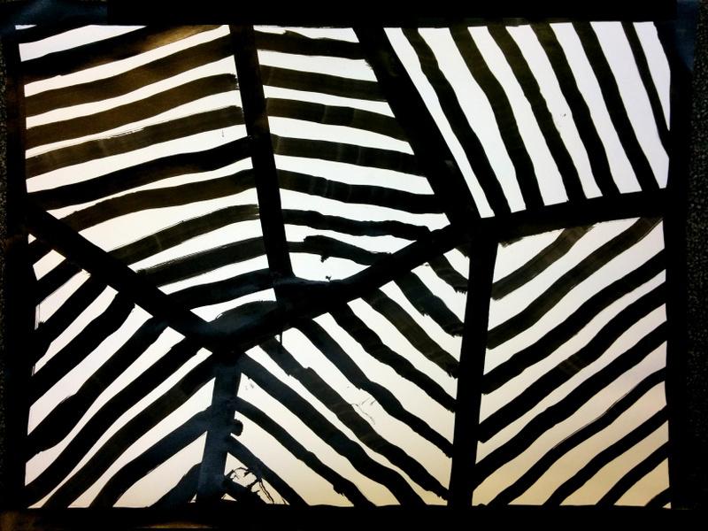 Bien connu Obliques à la manière de Sol LeWitt | maître françois DW18
