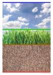 affichage - lignage terre herbe ciel