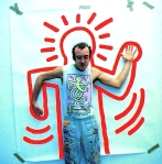 Keith Haring bonhomme how to